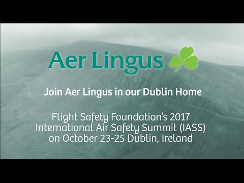 Aer Lingus Invites You to Dublin for IASS 2017