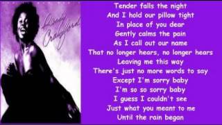 Randy Crawford - Tender Falls The Rain ( + lyrics 1980)