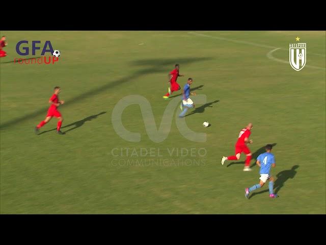 VICTORIA HOTSPURS FC VS F.C GHARB RANGERS: 3-1