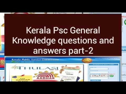 Kerala Psc Repeated General Knowledge Questions and ...