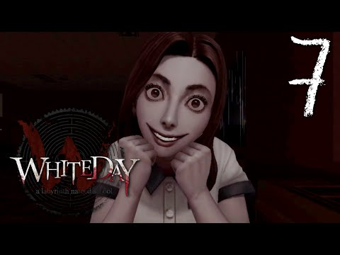 White Day (REMAKE) A Labyrinth Named School - Auditorium Inferno, Manly Let's Play Pt.7