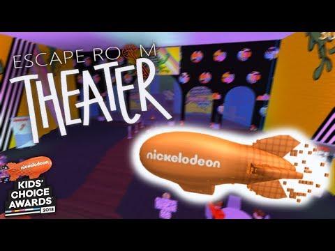 Roblox Kids Choice Awards 2018 Escape Room Beta 2 2 Youtube