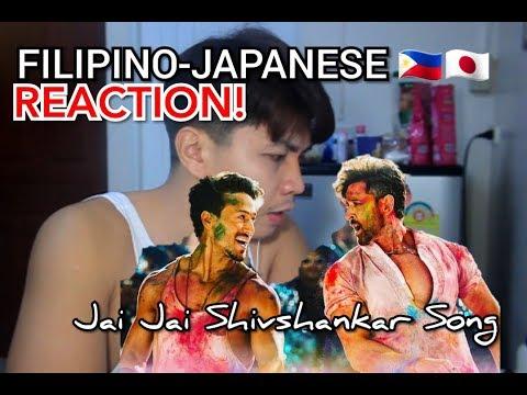 Filipino-japanese Reaction! Jai Jai Shivshankar Song  War  Hrithik Roshan  Tiger Shroff  Vishal