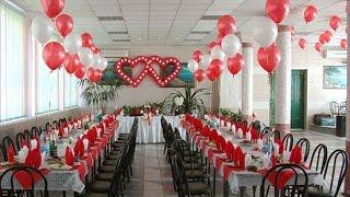Оформление свадебного зала. .(, 2014-12-24T17:59:07.000Z)