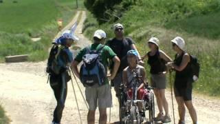Patinando por el Camino de Santiago: etapa 6ª, Najera-Castrojeriz.mpg