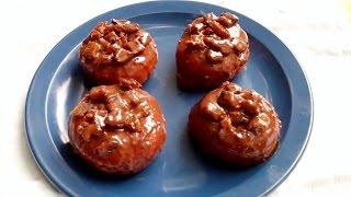 Chocolate Glazed Bacon Doughnuts