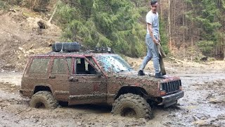 [OFF ROAD] Jeep Cherokee XJ 2.5td on 35 inch tires