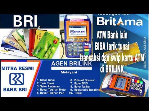 ATM BANK LAIN BISA TARIK TUNAI DI#Agen BRIlink