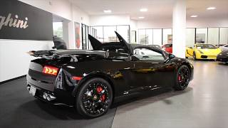 Video 2014 Lamborghini Gallardo Spyder Nero Noctis ELA13822 download MP3, 3GP, MP4, WEBM, AVI, FLV Agustus 2018