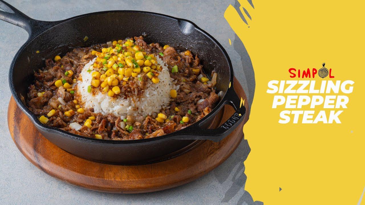 Download Sizzling Pepper Steak, SIMPOL!