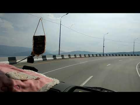 Озеро Байкал глазами дальнобойщика . Идём в сторону дома.