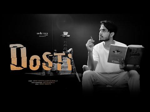 Dosti : Abhay Awasthi | Aditya Rohilla | Latest Hindi Songs 2021 | Rap Poetry | Official Video