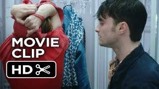 What If Movie CLIP - I'm Stuck (2014) - Zoe Kazan, Daniel Radcliffe Movie HD
