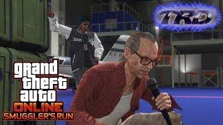 GTA Online - Smuggler's Run - Nervous Ron Hangar Cutscene