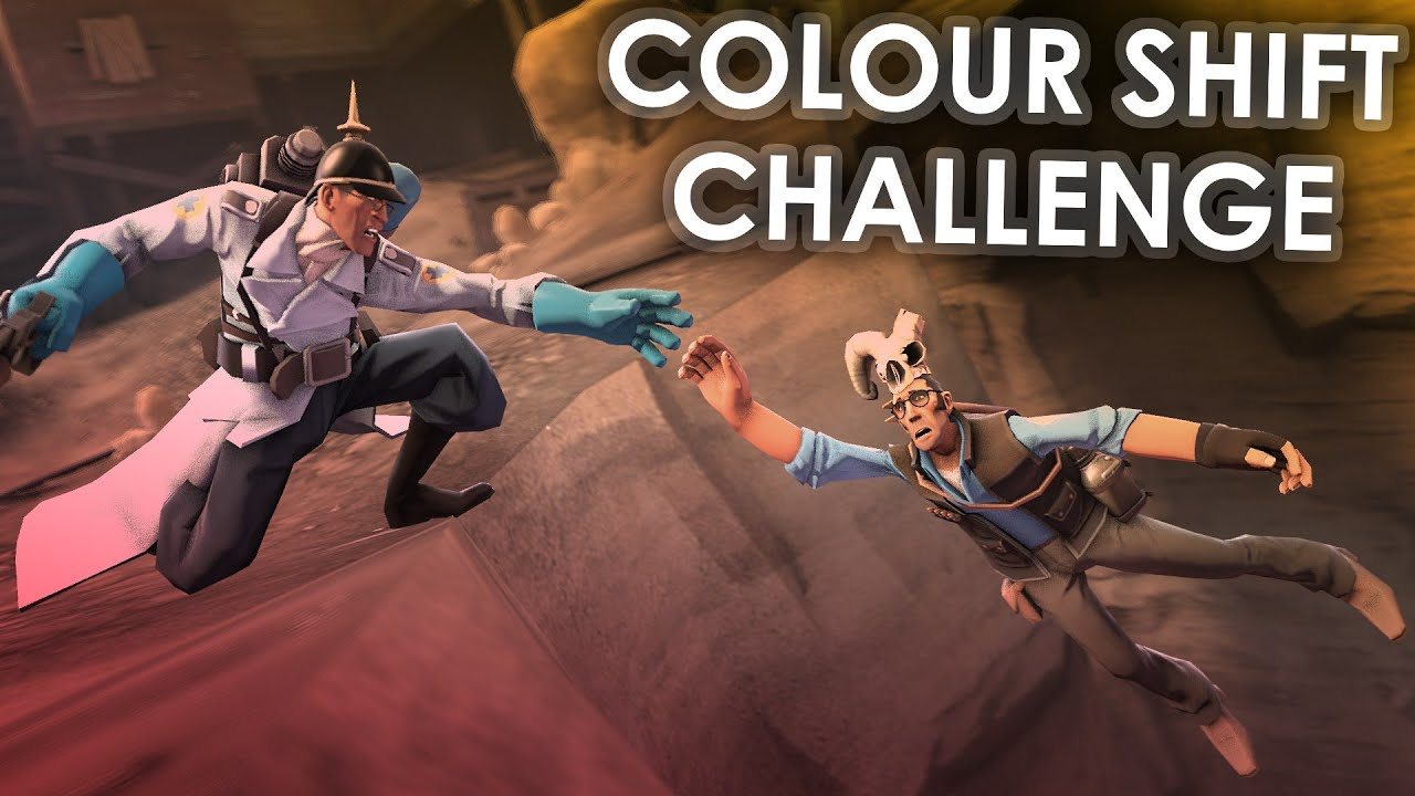 Team Fortress 2 Colour Shift Challenge - YouTube