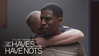 Officer Justin & Jeffery's Conversation in Jail | Tyler Perry's The Haves and the Have Nots | OWN
