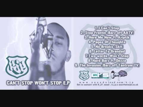 KJP - I Can't Stop