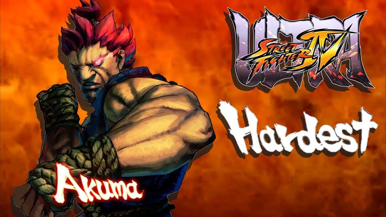 Ultra Street Fighter IV - Akuma Arcade Mode (HARDEST)