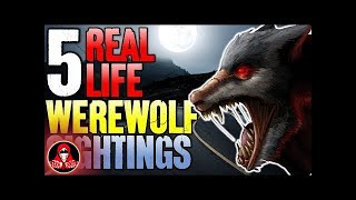 5 Real Life Werewolf Sightings! - Darkness Prevails