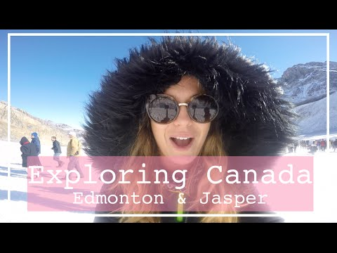 Exploring CANADA: Edmonton & Jasper | Filmed on my GoPro Hero 4 Silver