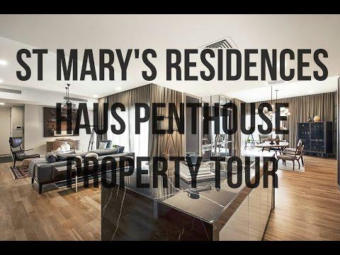St Mary Residences Haus Penthouse Property Tour, Kuala Lumpur