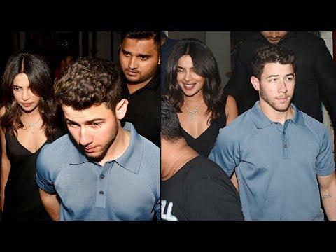 Priyanka Chopra and fiance Nick Jonas seen hand in hand on a dinner date in Mumbai ❤ Mp3