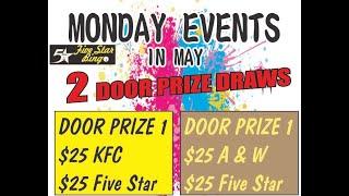 Five Star V-Bingo Live - MAY 3 EVENT