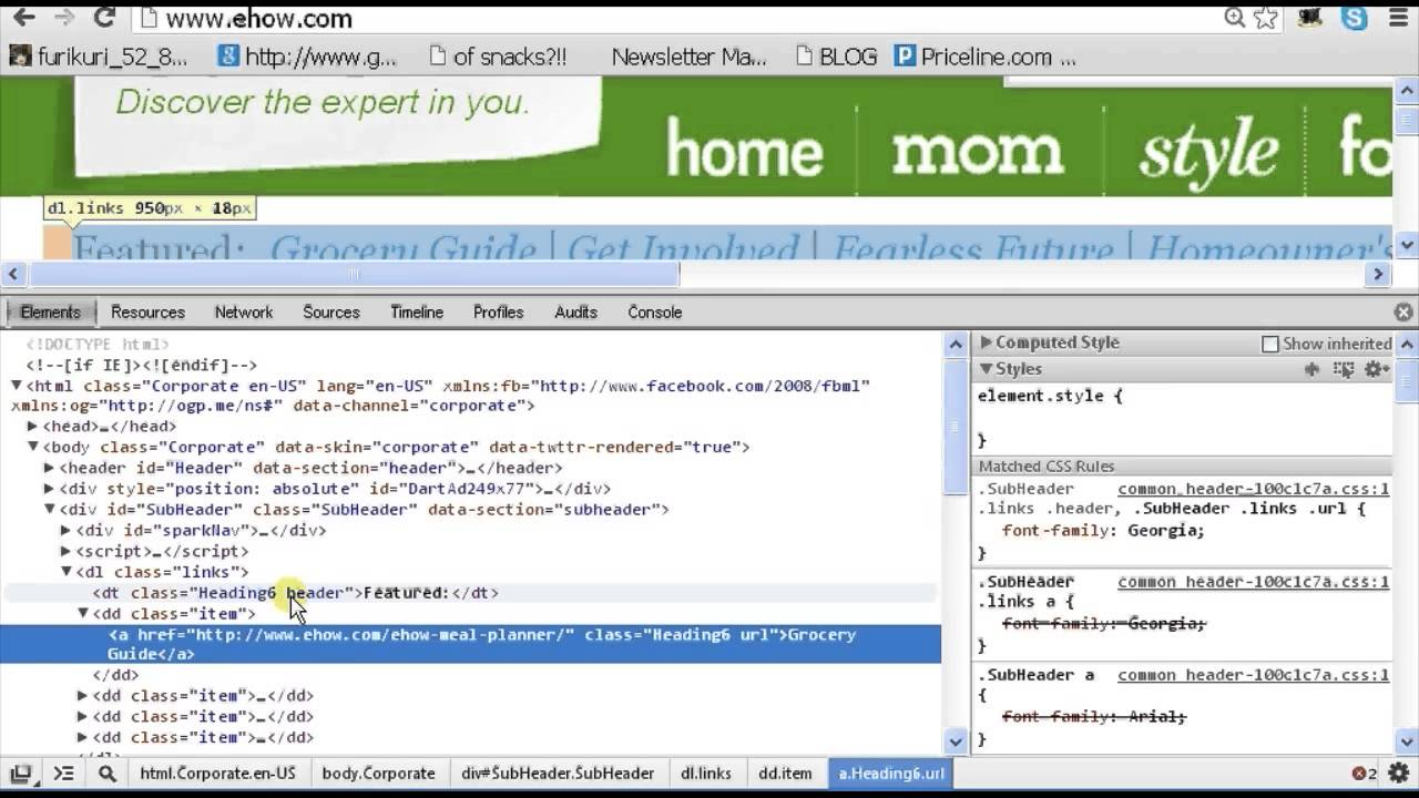 How to Examine Object Properties in Chrome Developer Tools : Chrome &  Firefox Tips