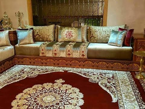 salon marocain 2018. Black Bedroom Furniture Sets. Home Design Ideas