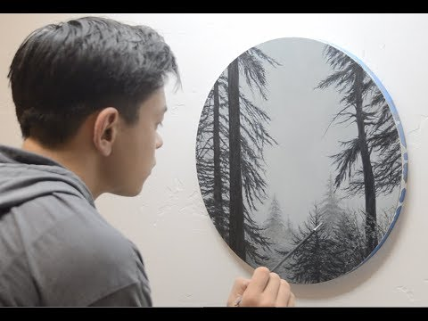 "Oil Painting Time-lapse of Big Sur - ""Redwood Window"""