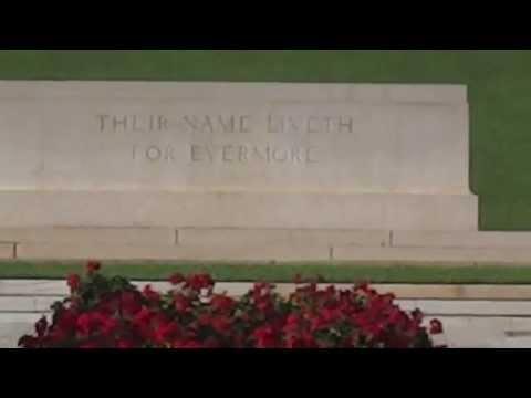 Phaleron War Cemetery, the Athens Memorial // Πολεμικό κοιμητήριο Φαλήρου, το Μνημείο Αθηνών