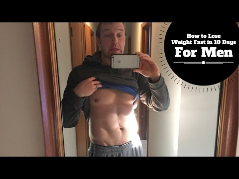 How to Lose Weight Fast in 10 Days for Men