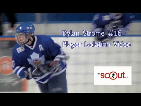 Dylan Strome, Player Isolation Video