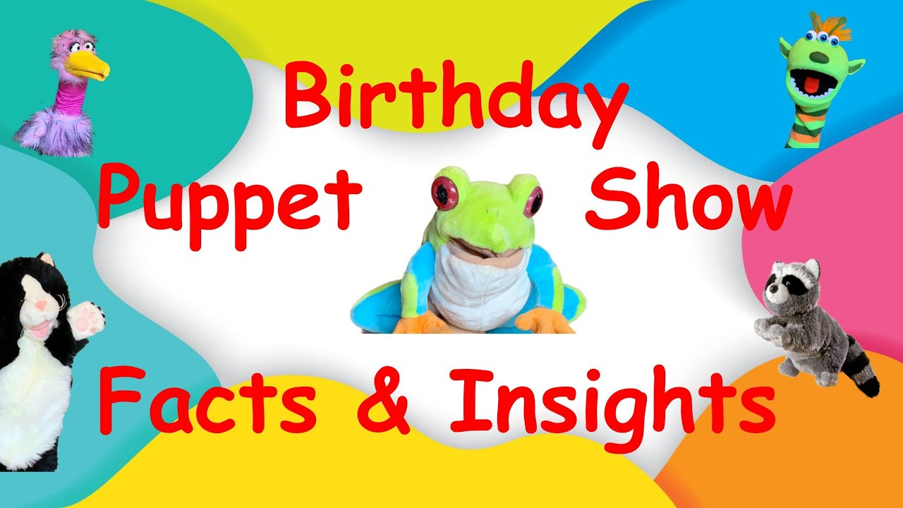 Best Virtual Birthday Party Ever Puppet Show New Video Youtube