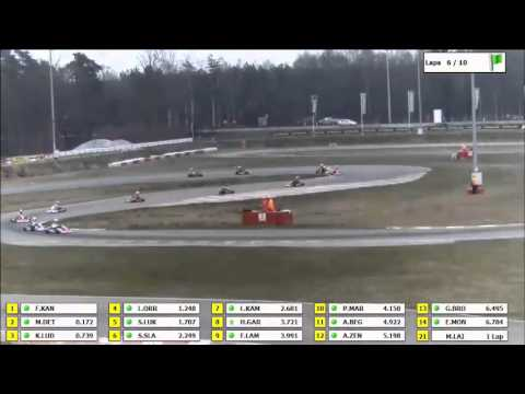 Heat22 Rotax Max Euro Challenge 2013 Genk / Belgium