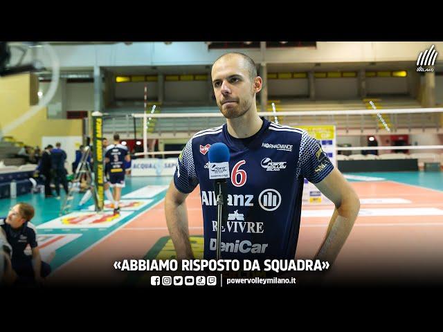 Superlega, intervista post Cisterna - Milano di Riccardo Sbertoli