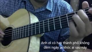 Chuyen tinh khong di vang (Nhu Quynh) [Guitar solo] [K'K]