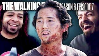 """The Walking Dead: Glenn """"Heads Up"""" Fan Reaction Compilation"""