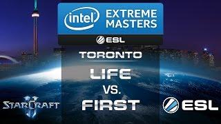 Life vs. First (ZvP) - IEM Toronto 2014 - Quarter Final - StarCraft 2