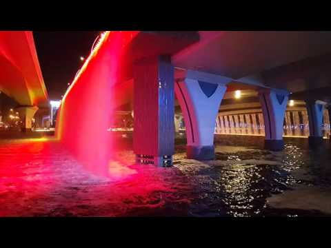 dubai-videos-hd-dubai-canal-waterfall