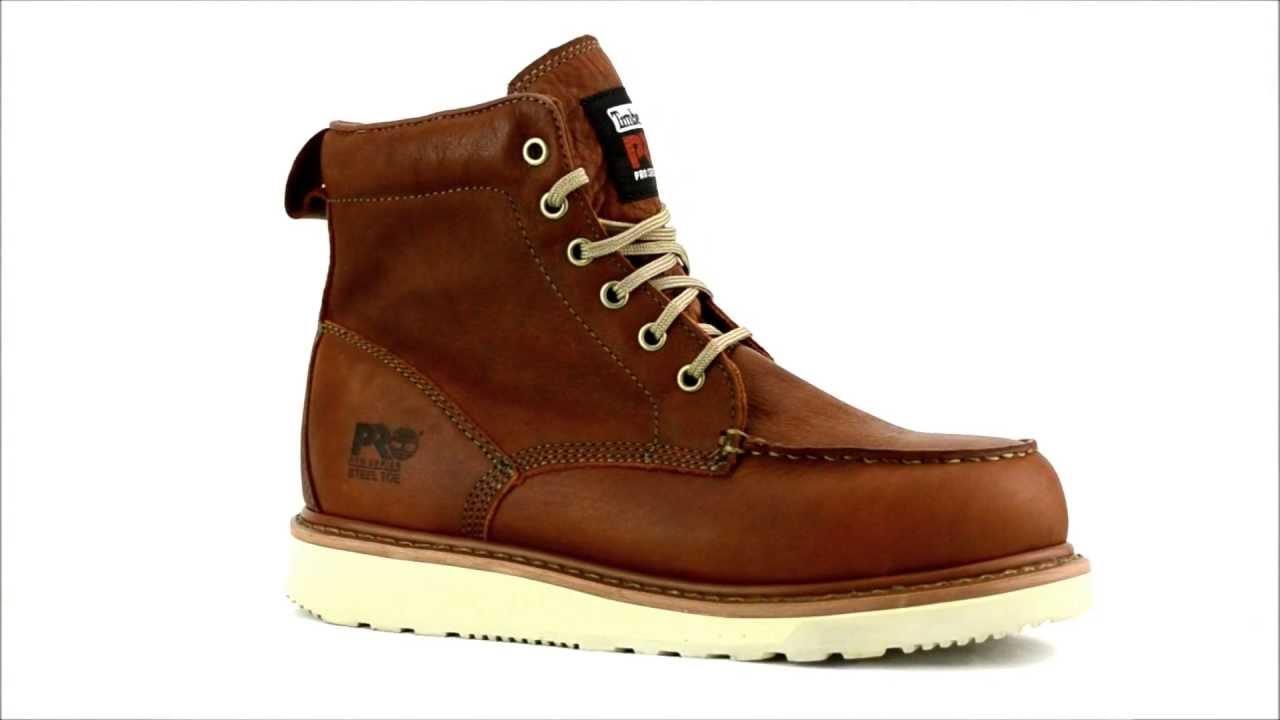 Men's Timberland 53008 Steel Toe Wedge