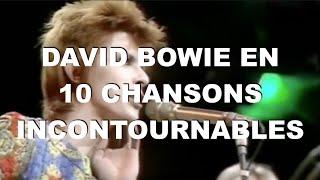 David Bowie en 10 titres incontournables