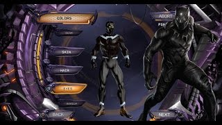 Create DCUO: Make the Perfect Marvel Movie Black Panther from the Start! Xbox One PS4 PS3 PC