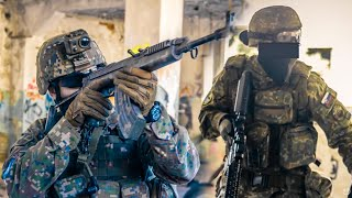 SOLDIERS play AIRSOFT 2 - INSANE KILLSTREAKS [ WFOS ]