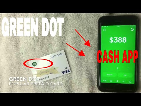 ✅  Can You Add Green Dot Prepaid Debit To Cash App?  🔴