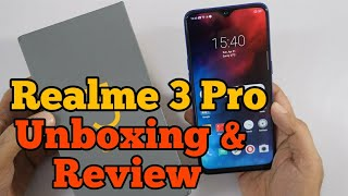 Realme 3 Pro Unboxing & First Look, Specifications, 6gb 128gb variant