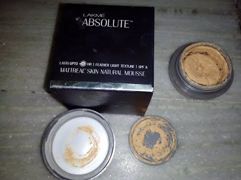 LAKME Perfecting liquid foundation | Lakmé Absolute Face Stylist Concealer Review from YouTube · Duration:  10 minutes 3 seconds