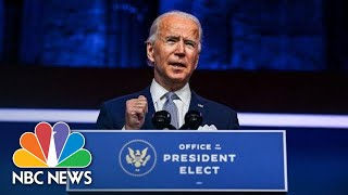 Biden Introduces Nominees For His Economic Team | NBC News