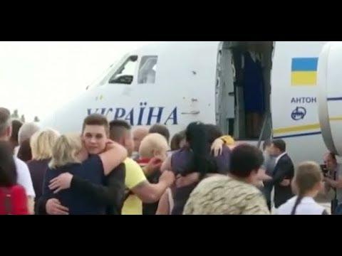 Обмен заключенными между Россией и Украиной. РФ и Украина обменялись заключёнными.