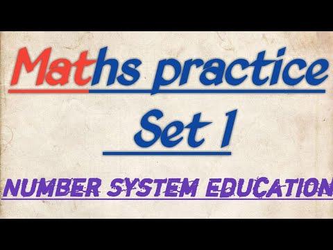 Maths practice set - 1 for Ssc, Bank, Railway etc.... By Vishal Kumar